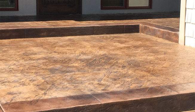 Pattern: Slate Skins - Colors: Creekside Buff with Dark Brown and Gray
