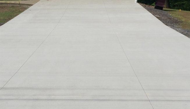 Pattern: Broom Finish Driveway-2
