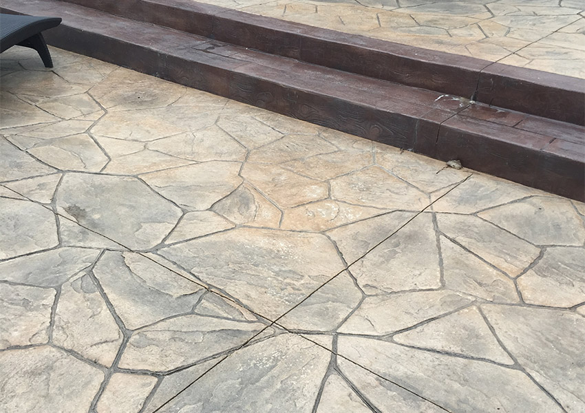 Large Random Flagstone - Palermo Concrete, Inc